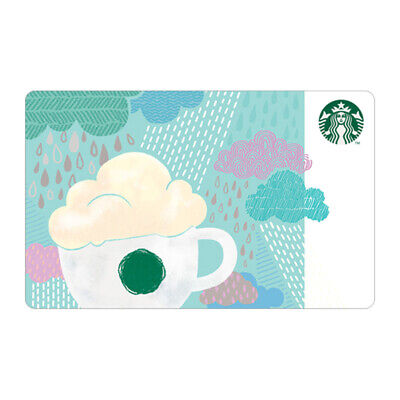 Starbucks Card coffee Korea 2018 Rainy Day Card gift Cards