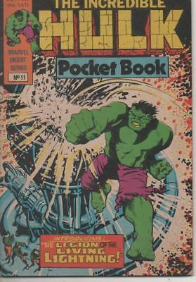 The Hulk Pocket Book #11 (Marvel UK: Digest Series) 1981 Very Good condition