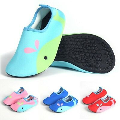 Toddler Baby Kid Swim Water Shoes Beach Socks Skinny Swimming Wading Shoes 2-5Y