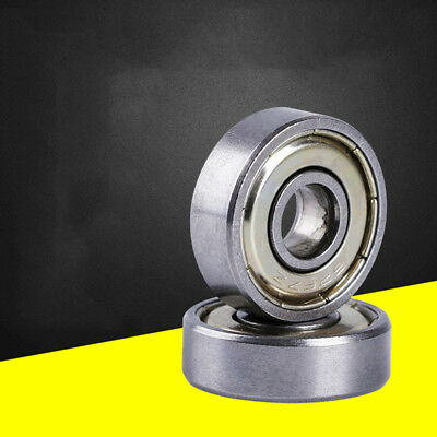 10pcs Industry Sealed Tapered Deep groove Carbon Steel Ball Bearing 626-ZZ 6mm