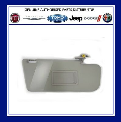 New Genuine Fiat Panda 2003-2011 Offside / Right Hand Sun Visor. 735362757