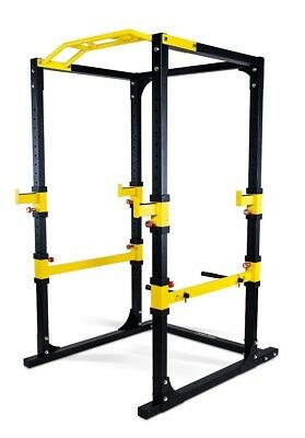 NEW PowerGym Fitness  Power Rack Cage Squat Gym Exercise Machine Pull Up Dip