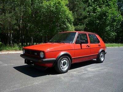 Volkswagen VW Golf 1 GTI 1983 DX 1.8