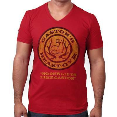 Beauty and The Beast Disney Inspired Shirt | Gaston Gym Workout V-Neck T-Shirt