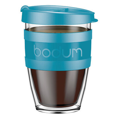 NEW Bodum Joycup Petrol Travel Mug 300ml