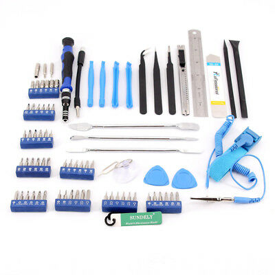 80 Repair Opening Tool Kit Screwdriver Set For iPhone iPad Laptop PC Electronics