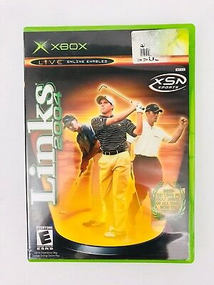 LINKS 2004 (MICROSOFT Xbox, 2003)-Works and Tested - $6 99 | PicClick