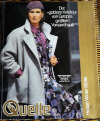 Quelle Katalog HW Herbst Winter 1985 - 1986