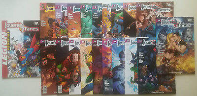 Teen Titans Vol I Nº 1 Al 19 Collection Complete Teen Titans Legion