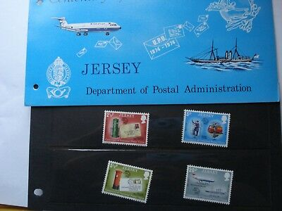 Jersey Centrenary of the UPU Presentation Pack