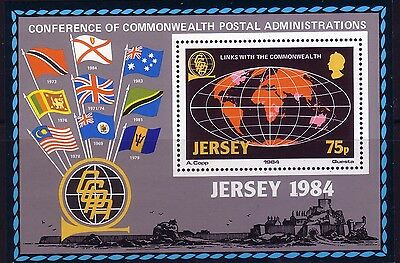 1984 Jersey. Links with the Commonwealth  MS333 MNH