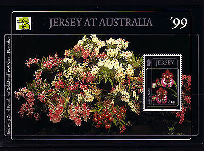 1999 Jersey. Orchids (4th Series)  MS898 MNH