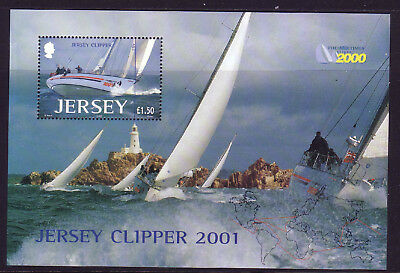 2001 Jersey. The Times Clipper 2000 Round the World Yacht Race MS1006 MNH