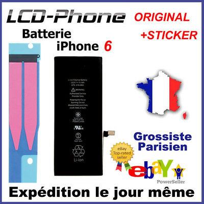 Batterie iPhone 6 Interne Neuve 0 Cycle - Grade AAA + STICKER