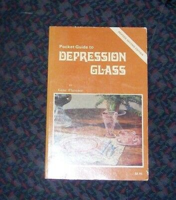 Pocket Guide to Depression Glass by Gene Florence Revised Second Ed. 1980 pb.