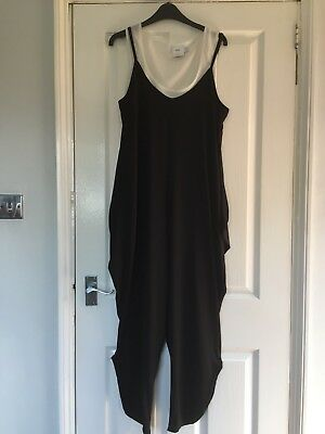 ASOS Maternity silky feel vest top with jumpsuit sz 16