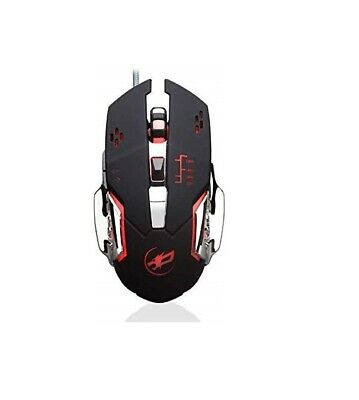 Gaming mouse, Adjustable DPI, 7 Programmable buttons,Ergonomic, Breathing Lights