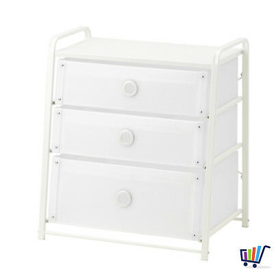 Penderie Blanc Cm 3 Ikea Kullen 70x72 Commode Armoire Avec Tiroirs 7If6vgYby