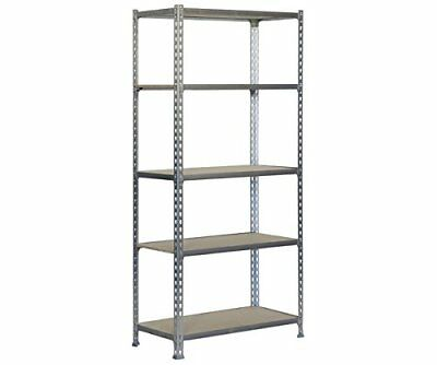 Simonrack 8435104910757 1800 x 900 x 300 mm Galvanized Chipboard Shelves without