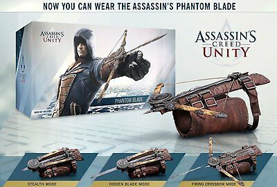 Assassin's Creed Unity Hidden Phantom Blade Gauntlet Toy Cosplay with free code