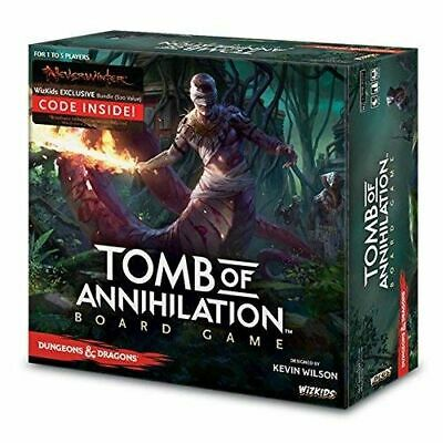 D&D Tomb Of Annihilation Standard Edition Boardgame 2017 - Brand New & Sealed