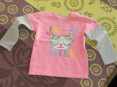 T-shirt manches longues taille 18 mois
