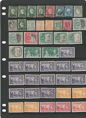 Stock Of Saint Helena Stamps