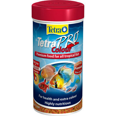 Tetra Pro Colour 110g Premium Fish Food for All Tropical Fish