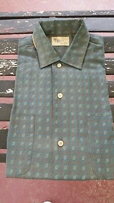 Vintage Town Topic button up sports shirt
