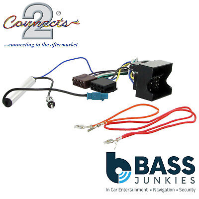 volkswagen fox 2005 onwards car stereo iso wiring harness adapter lead