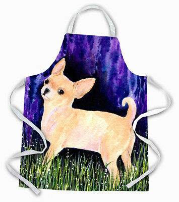 Carolines Treasures  SS8514APRON Starry Night Chihuahua Apron