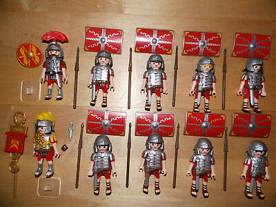 Playmobil Custom Römer Legionäre Centurio vs Germanen Sarazenen Top Rar