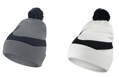 best loved eb7fe 33941 NIKE MENS DRIFIT Exploded Swoosh Pom Pom Beanie One Size NWT Adult Unisex  Hat -  15.99   PicClick