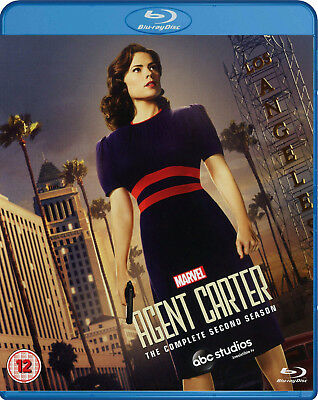 Agent Carter: The Complete Second Season [Blu-ray] New and Factory Sealed!!