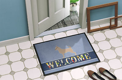 Carolines Treasures  BB5554MAT Chihuahua Welcome Indoor or Outdoor Mat 18x27