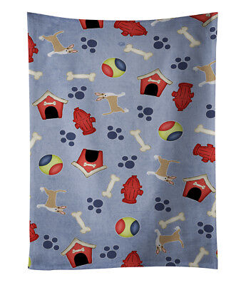 Dog House Collection Brindle Chihuahua Kitchen Towel