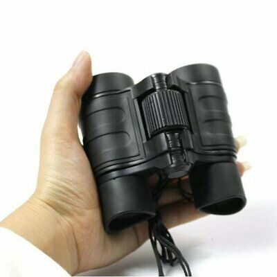 4x30 Children Black Binoculars Pocket Rubber Telescope For Kids Outdoor Games