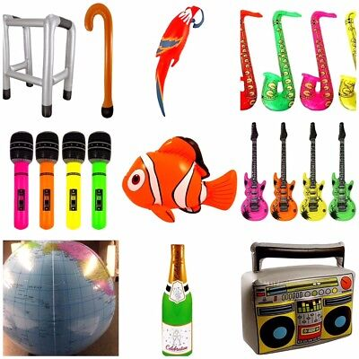 Inflatable Blow Up Toys Fancy Dress Stag Hen Beach Party Accessories Decorations