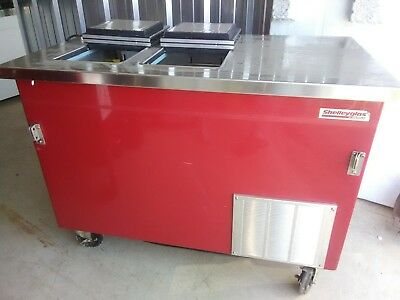 Delfield Ice Cream Counter and Box Model KCF50 Dipping Cabinet Chest Box Machine