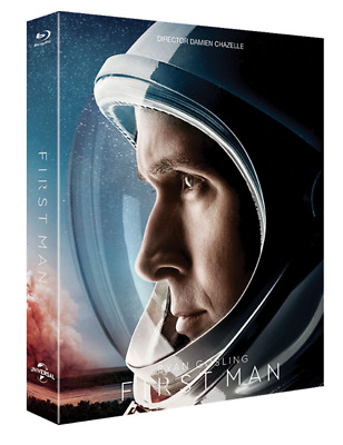 """""""   First Man """"  Blu-ray Steelbook Limited Edition (1 Disc)"""