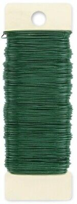 Paddle Wire 24 Gauge 110'-Green - 6 Pack