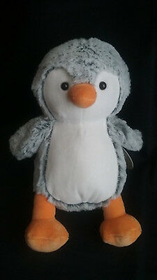 New Target Limited Edition Gray Penguin Plush Baby Stuffed Animal To
