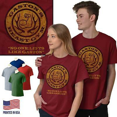Beauty and The Beast Disney Inspired Shirt | Gaston Gym Workout Long Sleeve Tee