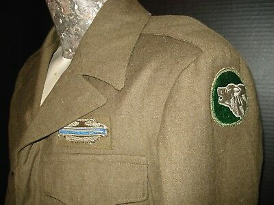 WW2 US Army IKE Jacket, 104th Infantry Div. 38R