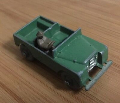 Matchbox Lesney #12B Landrover Military Jeep