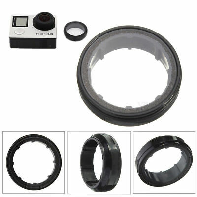 Protective Clear Glass UV Lens Protector Cap Cover For GoPro Hero 3 4 Camera USA