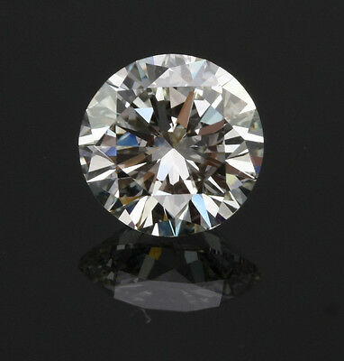 3ct 9mm Round Synthetic Crystal Carbon Stone. Outshines Diamond and Moissanite!