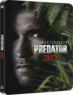 Predator 3D - Limited Edition Steelbook [Blu-ray 3D] New and Factory Sealed!!