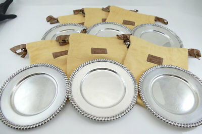 Gorgeous Tiffany & Co. Sterling Silver Plate(s)   No Monos  w/pouch  !! SALE !!