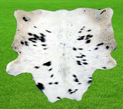 """New Calfhide Rugs Area Cow Skin Leather 8.25 sq.feet (36""""x33"""") Calf hide A-1148"""